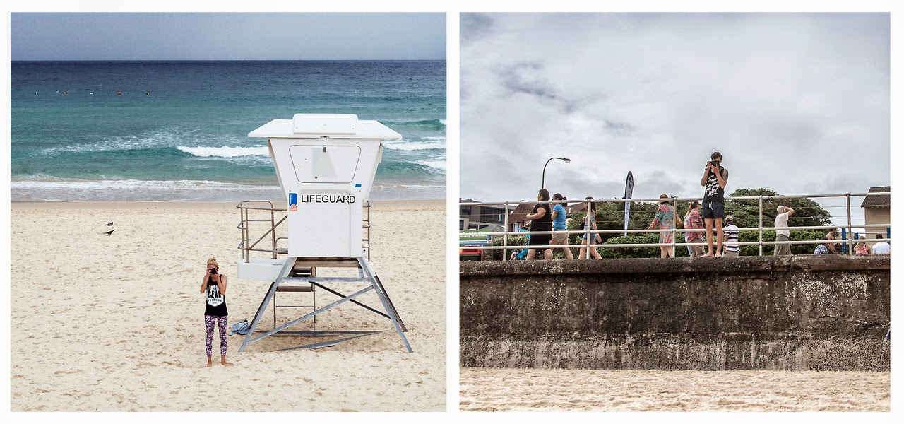 2. Bondi Beach, Australia - These Globetrotters Document Their Travels In A Really Cool Way.