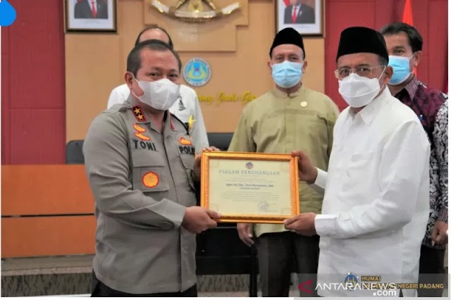 UNP Padang Apresiasi Polda Sumbar  Bidang Kamtibmas