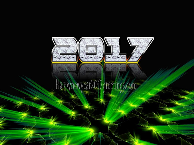 2017 New Year 3D Picture Download