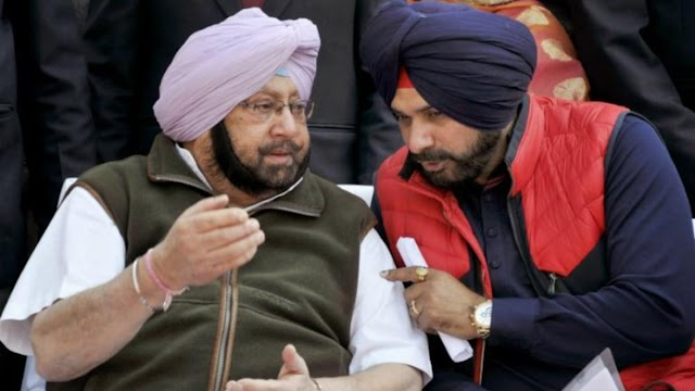 Amarinder Singh rebuffed as Navjot Sidhu is named Punjab Congress chief
