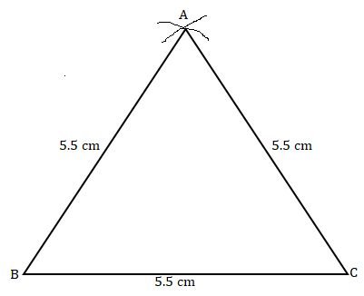 NCERT Solutions for Class 7 Maths Ch 10 Practical Geometry Exercise 10.2 Answer 2