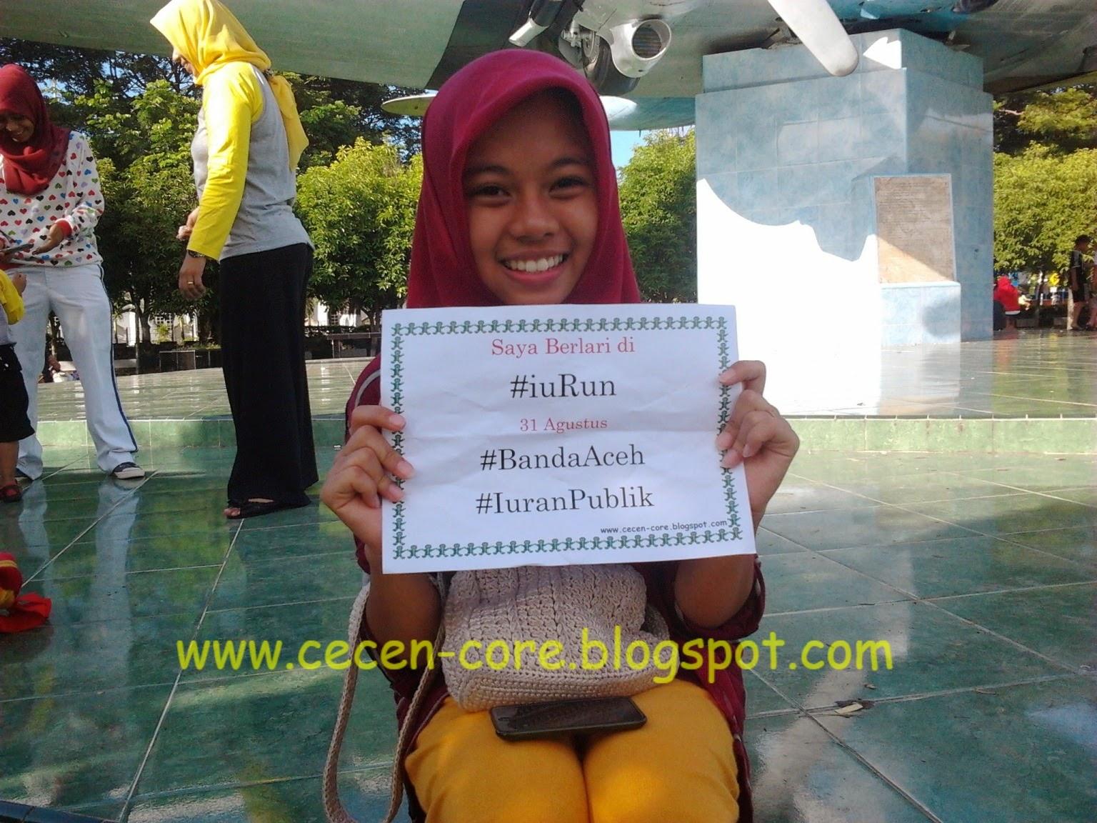 Yasmin Athira #iuRun Aceh