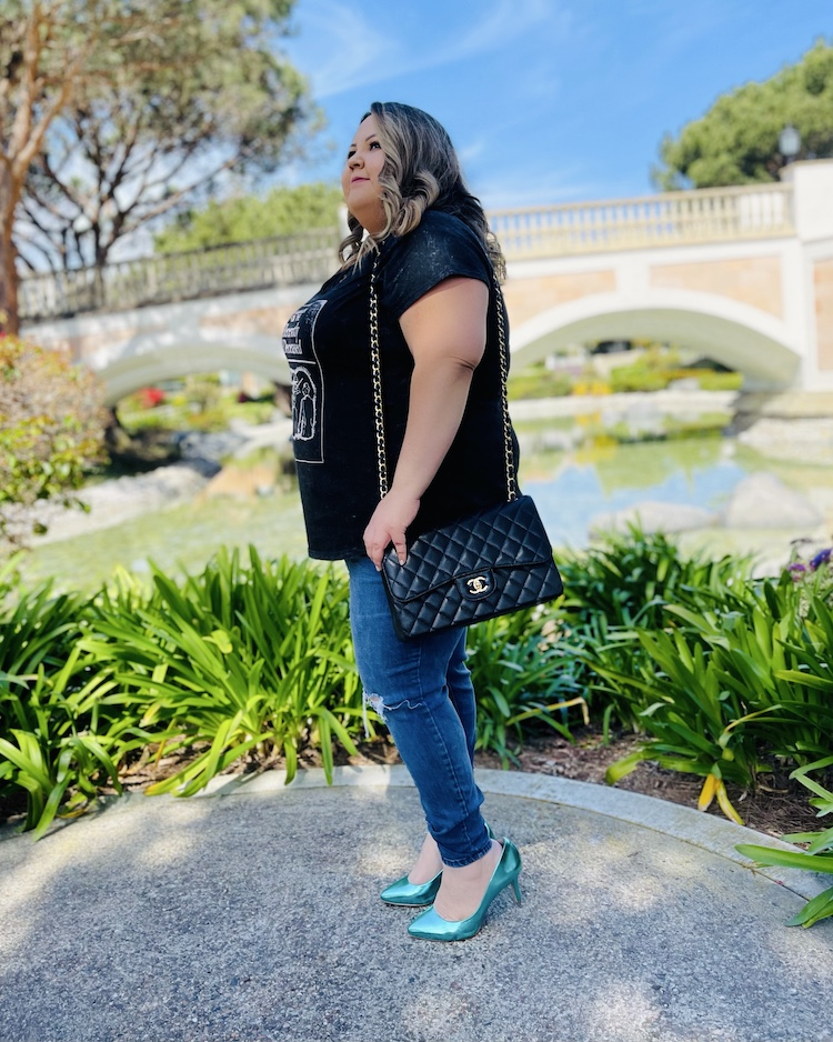Chanel Jumbo in Plus Size Body