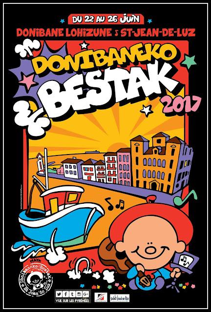 Saint Jean de Luz : Donibaneko bestak 2017 Fêtes de la St Jean