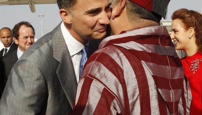 El rey de Marruecos llora la pérdida de la España musulmana