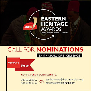Eastern Heritage Awards 2019: Call for Nomination