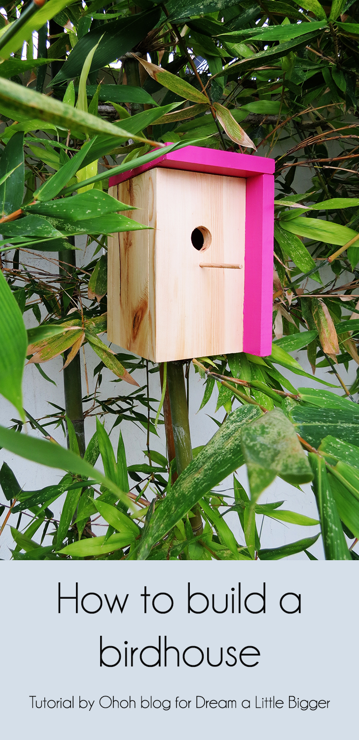 How to build a modern birdhouse ohoh blog for Birdhouse project