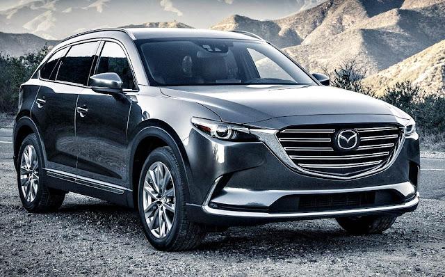 Mazda CX-9 2017 frente gris