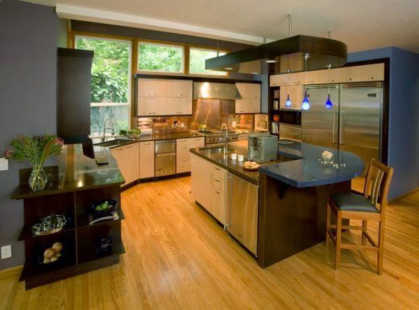 Desain Dapur dan Ruang Makan Minimalis tapi Mewah