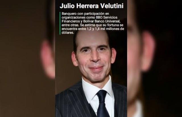 Julio Herrera Velutini, un banquero con un turbio pasado, es una de las personas más ricas de Venezuela