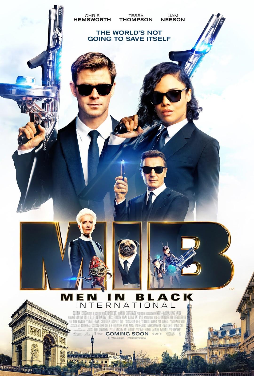 Men in Black International 2019 Dual Audio 720p HDCAM 800Mb