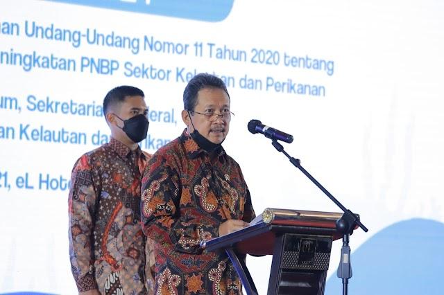 Menteri Trenggono Harapkan Penerapan UU Ciptaker Lingkup KP Berbasis Ekonomi Biru