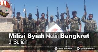 Allahu Akbar! Milisi Syiah Makin Bangkrut di Suriah