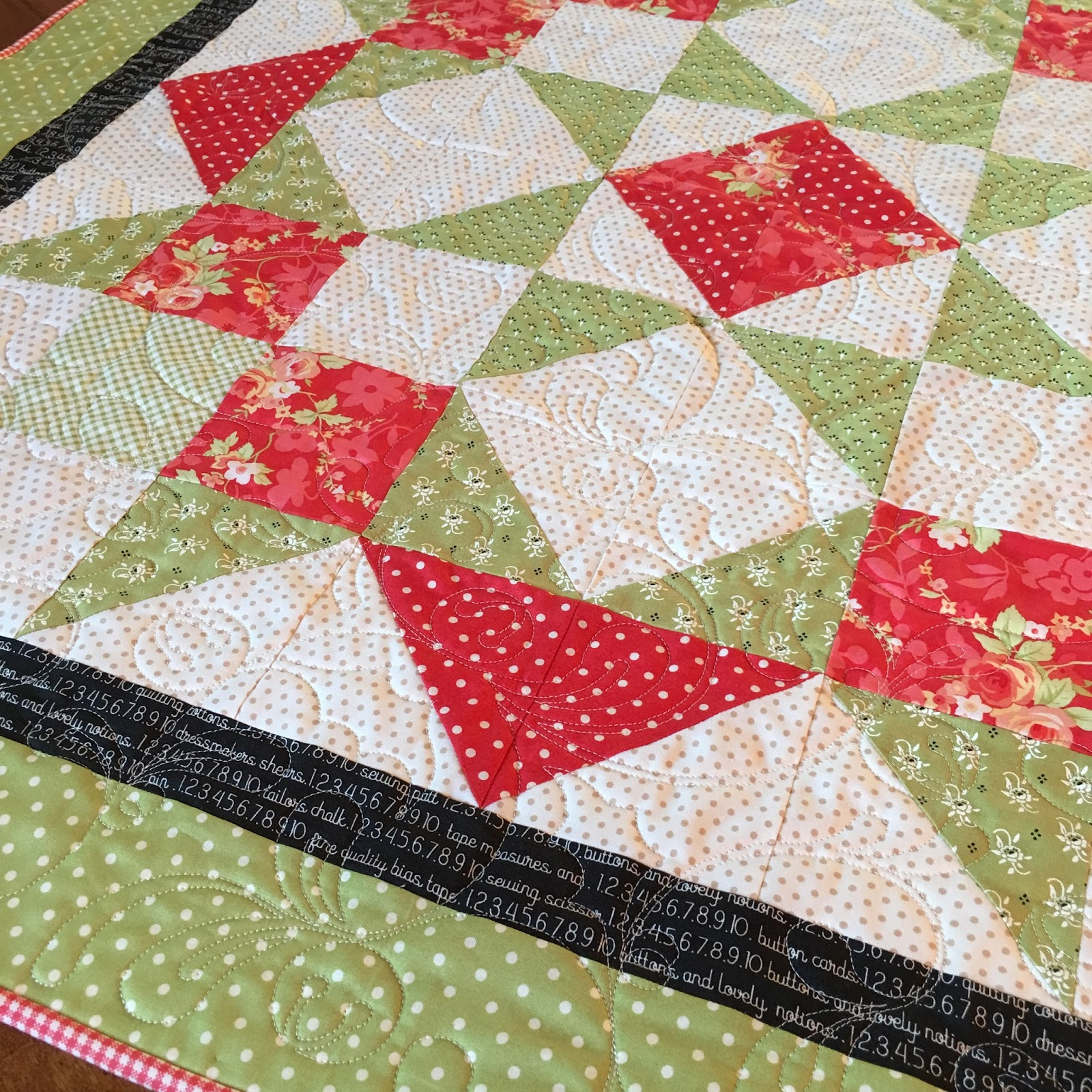 Carried away quilting moda love quilt for christmas for Quilting material