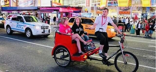 New York City Pedicab Rickshaw Tours
