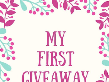 Mrs. A Join 'My First Giveaway By Blog Sal'
