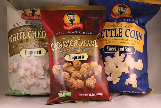 GIVEAWAY: Gaslamp Popcorn from San Diego! | @Gaslamp_Popcorn