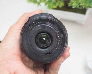 Lensa AF-S Nikon DX 55-200mm VR Second