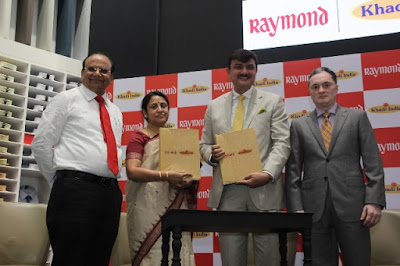 raymond-launches-khadi-label-as-part-of-make-in-india-initiative