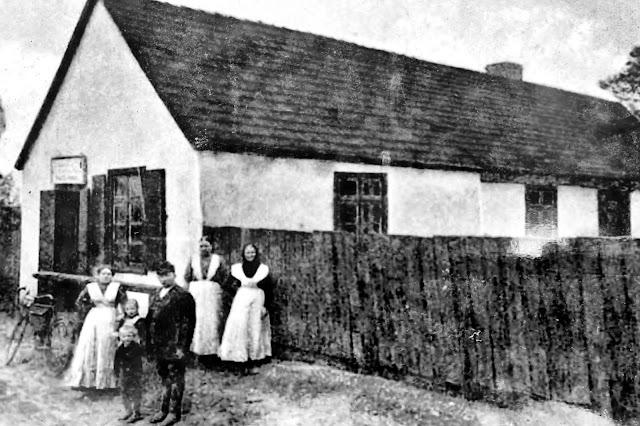 Dawni mieszkańcy Łażyna