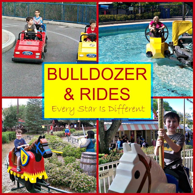 Rides at LEGOLAND with special needs