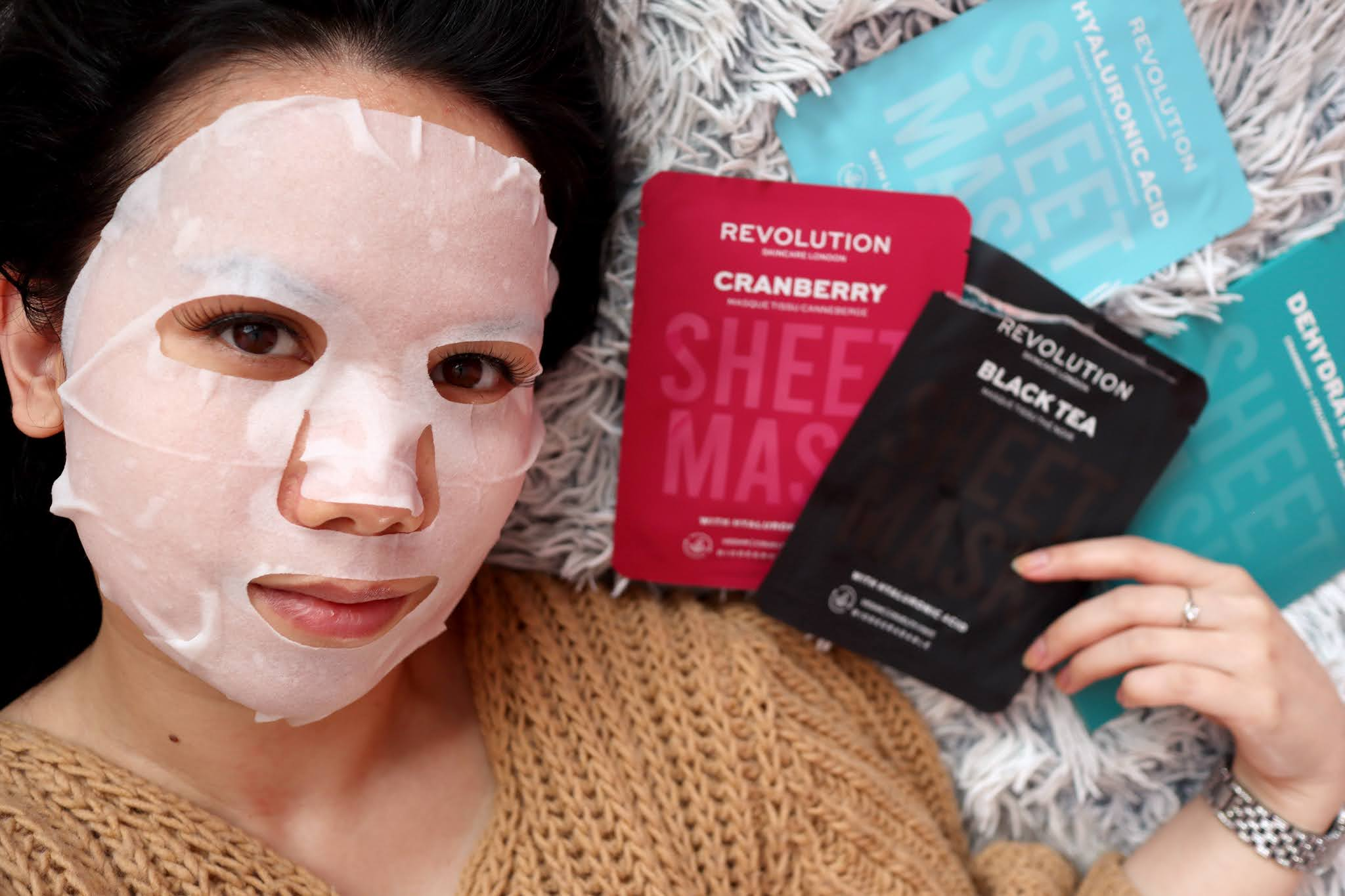 Revolution Skincare Sheet masks