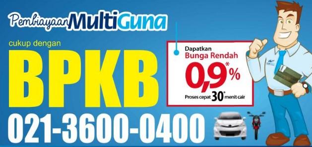 Pinjaman Jaminan BPKB Motor Wom Finance