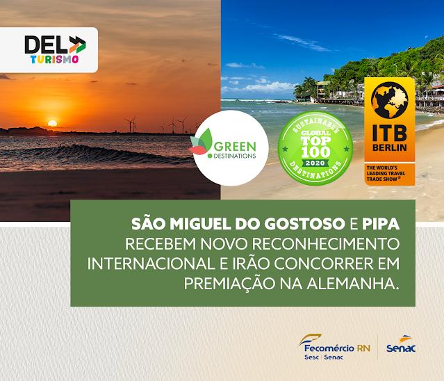Duas praias do RN vão concorrer em premiação blog do Jasão
