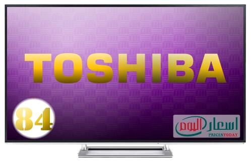 سعر شاشة توشيبا 84 بوصة 4k اندرويد