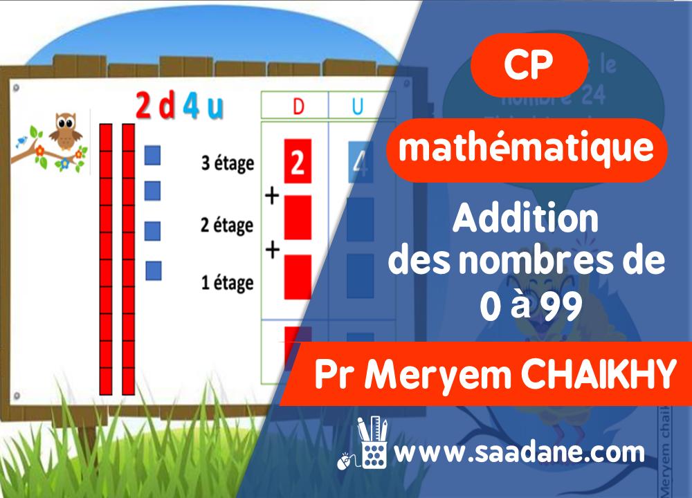 دروس الرياضيات بالفرنسية للمستوى الاول بتدائي