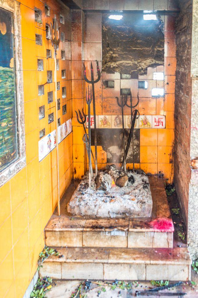The Eternal fire at Harishchandra Ghat - The Burning ghat of Varanasi