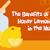 The Benefits Of Warm Honey Lemon In The Morning #infographic