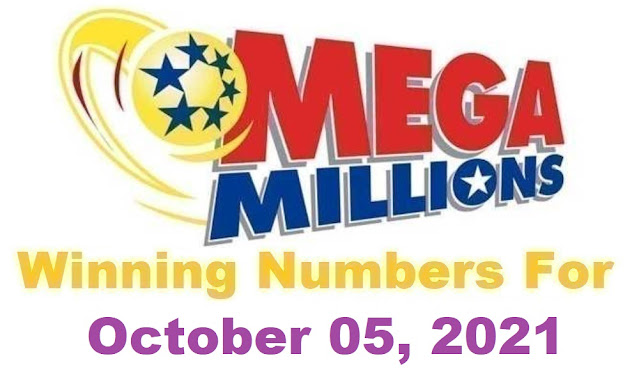 Mega Millions Winning Numbers for Tuesday, October 05, 2021