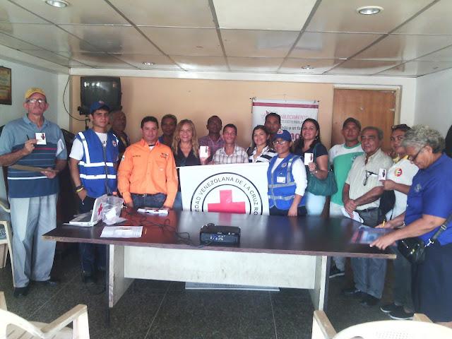 """APURE: Dictado taller; """"Protégete y personas en modalidad de Viajero"""" por Cruz Roja Venezolana celebrando 10 años de Senderos de Apure."""