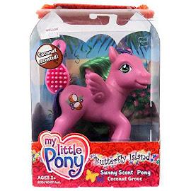 MLP Coconut Grove Sunny Scents  G3 Pony