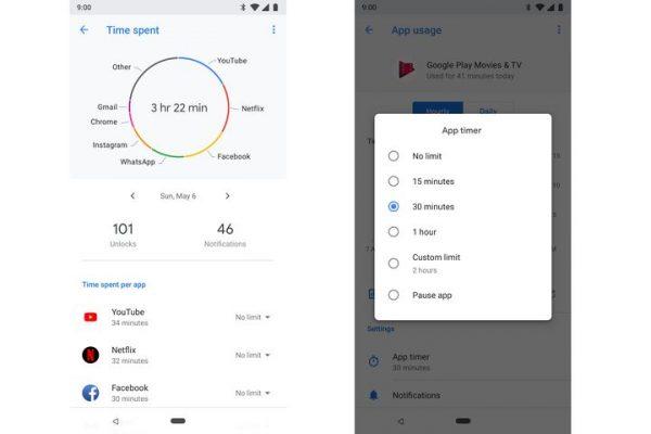 جوجل تكشف عن الطريقة التي ستساعد على الإقلاع عن إدمان الهواتف الذكية