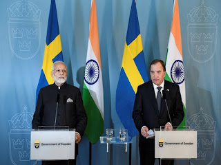 India-Sweden Virtual Summit