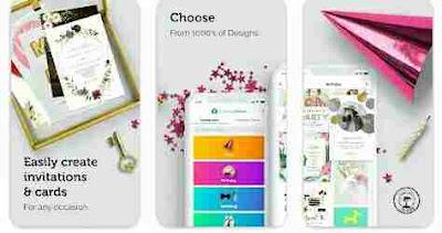 Aplikasi Desain Undangan - Pembuat Kartu Undangan Gratis