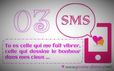 SMS et texto amoureux