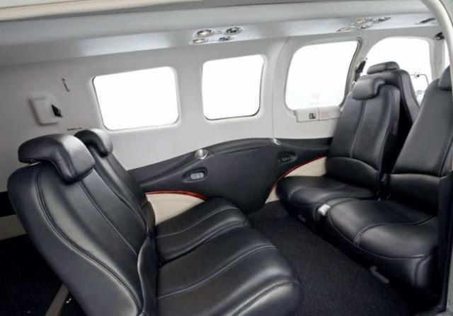 Beechcraft Bonanza G36 interior