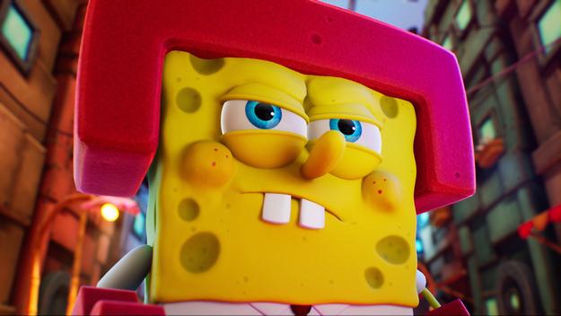 A new game SpongeBob SquarePants: The Cosmic Shake in preparation
