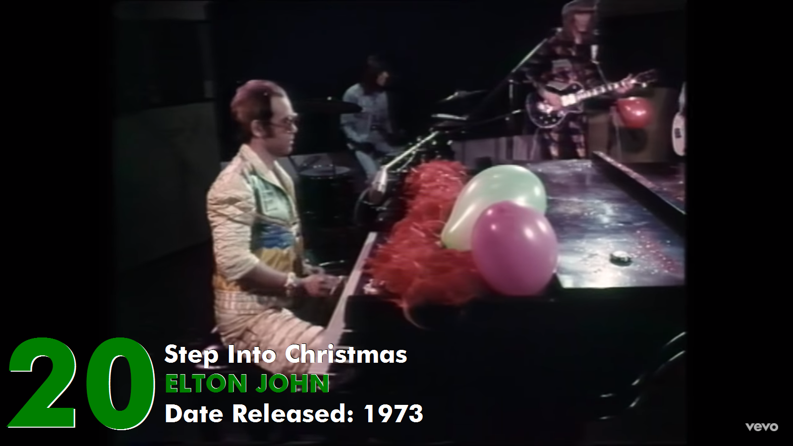 Elton John Christmas Song.A Pop Culture Addict S Guide To Life 20 Top 25 Christmas