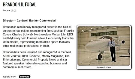 Brandon D. Fugal - Director Coldwell Banker