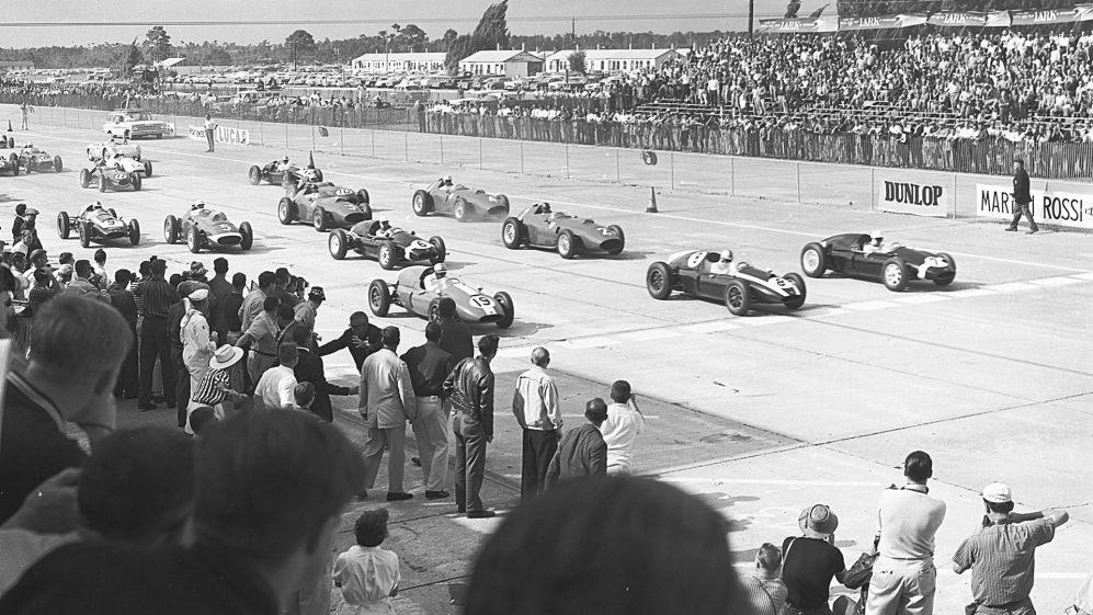 Parte do site Sebring International Raceway já foi uma base aérea durante a Segunda Guerra Mundial