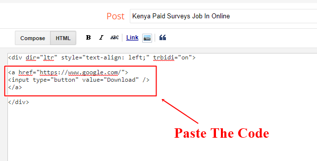 Add Download Button in Blogger