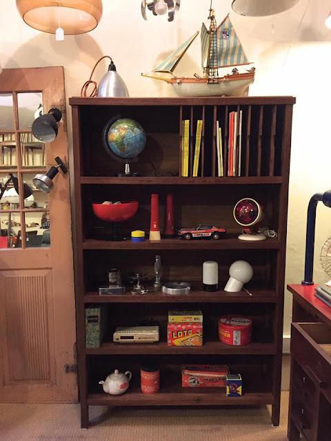 estante, arquivo, vintage, móveis vintage, anos 70