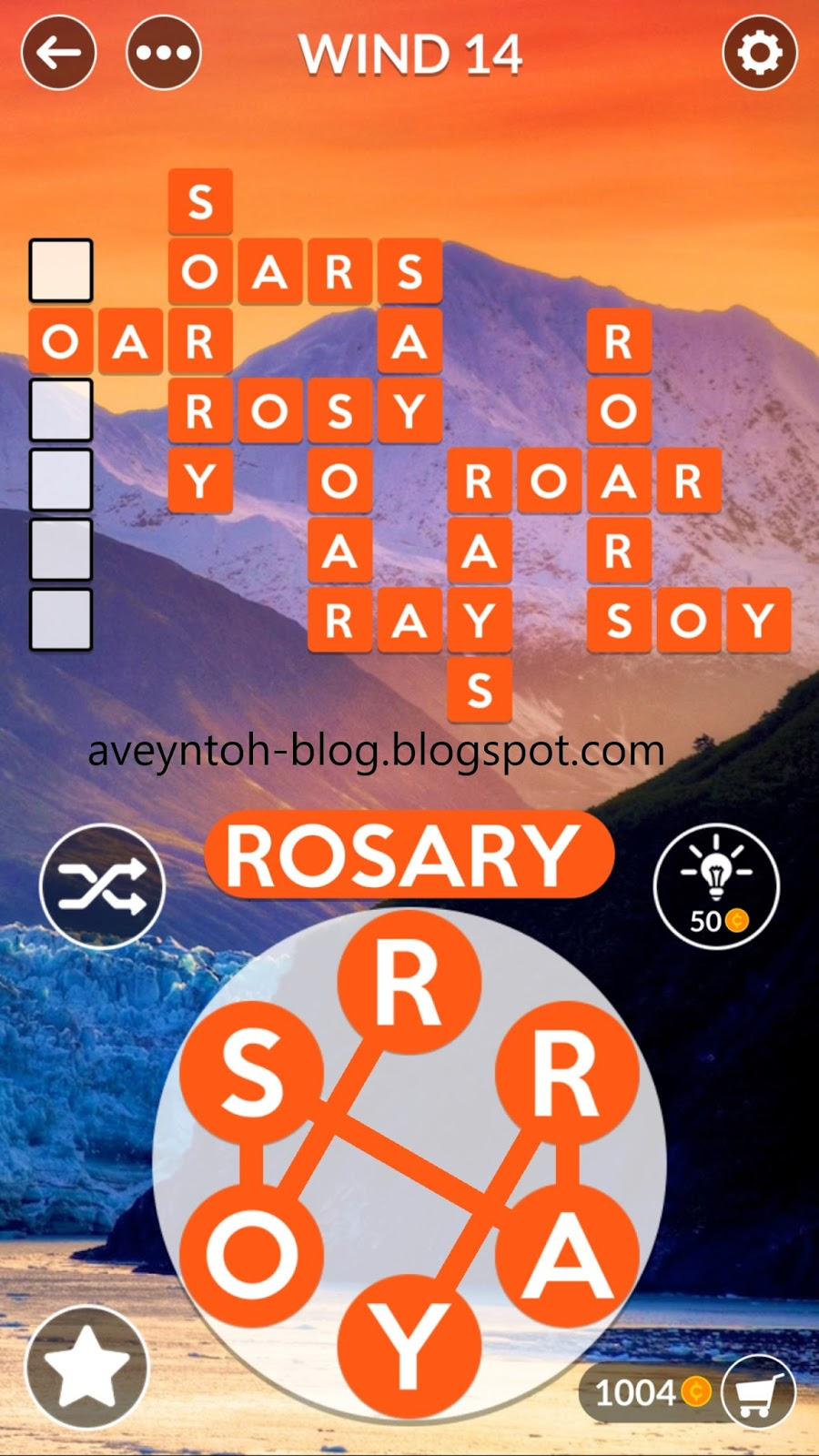 aveyn u0026 39 s blog  wordscapes answers - sky