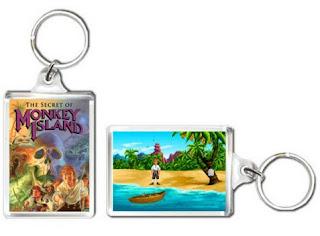Llaveros Monkey Island PC