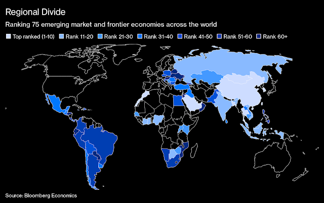 #Saudi, South Korea Lead, Latin America Lags in EM Recovery: Map - Bloomberg