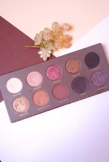 Review Palette Zoeva Cocoa Blend
